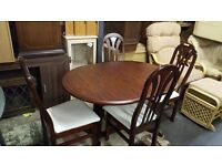 Lovely table and chairs for sale