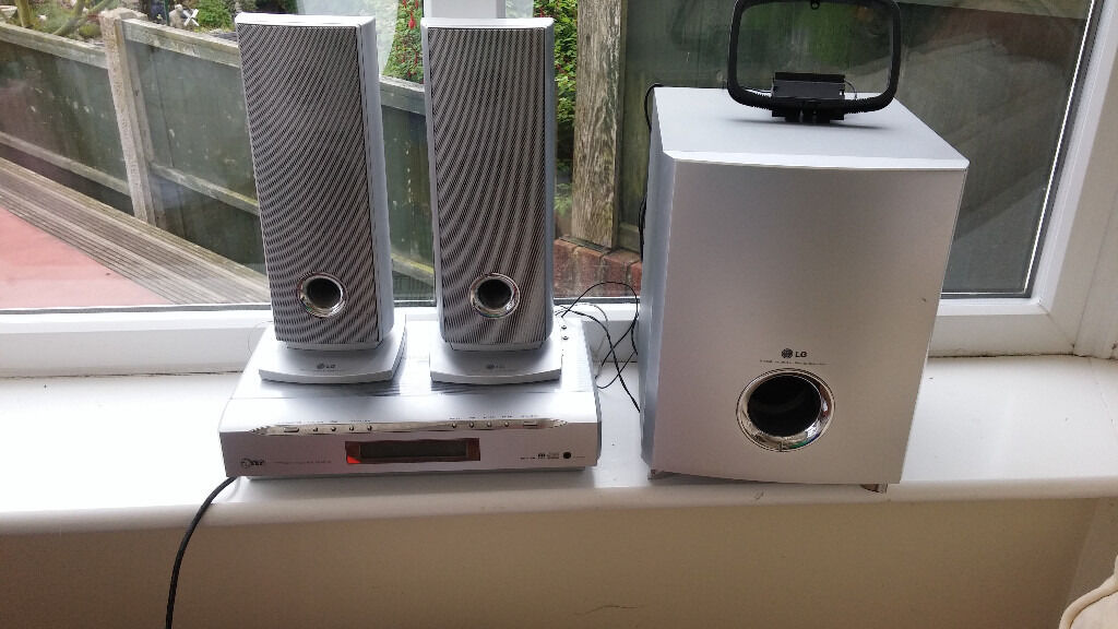LG FFH-S198 mini home cinema system   in Chesterfield, Derbyshire ...