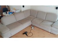 Corner sofa for quick sale