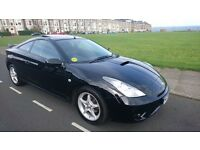 04 TOYOTA CELICA VVTi 1.8 - 6 SPEED WITH FULL BLACK LEATHER, AIR CON & SUNROOF - SUPERB EXAMPLE!!