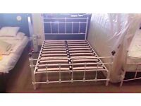 GOOD CONDITION! 4ft 6 atlantic bed frame double bed ex-display/floor model