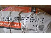 2 x bags of plaster (out of date)