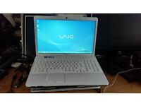 sony vaio vpceh windows 7 64 bit 8g memory 600g hard drive new battery intel core i5