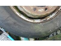 Lorry wheel