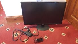 DEAD Acer Monitor & Cable