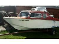 Micro plus cabin cruiser boat