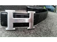 *LIMITED EDITION* Hermes Black belt with buckle