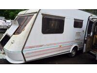 RE:505 NOW breaking Elddiss Vogue 416 caravan
