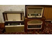 Vintage Valve Radio's