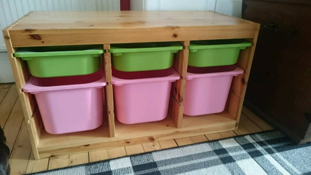 ikea trofast kids 39 toy storage unit in dunfermline fife gumtree. Black Bedroom Furniture Sets. Home Design Ideas