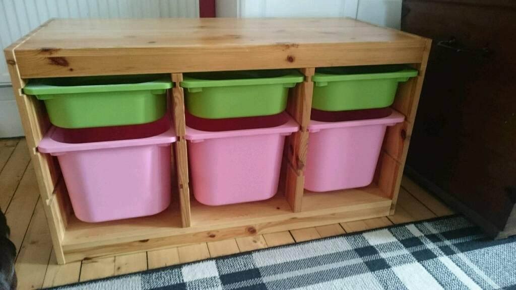 Ikea Trofast Kids Toy Storage Unit