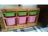 Ikea Trofast kids' toy storage unit