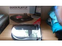 Ion quick play vinyl to mp3 record deck/converter. Usb powered