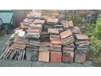 Red ruabon quarry tile