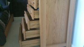 M&S Sonoma Oak 5 drawer chest