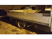 Aluminium flat bed body 11ft 3.5 tonne
