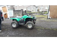 quad bike campell branson 650 twin spares or repair engine mint runner £ 800