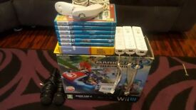 Wii u bundle with top games and extras - Excellent working order