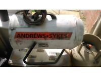 Andrews sykes G60 garage workshop gas heater