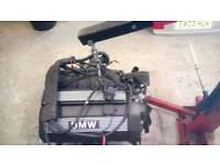 BMW e36 2.5ltr engine.