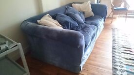 Two Huge, Beautiful, Comfy Sofas (matching pair)