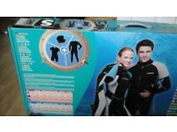 WET SUIT - includes one piece, shorty and hood - BRAND NEW