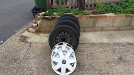 FORD KA/FIESTA WHEELS,TRYES + OTHER PARTS