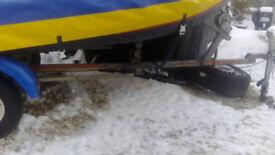 Boat rib dinghy trailer