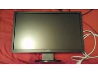 "20"" Acer widescreen monitor"
