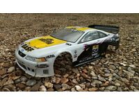 1/10 scale RC car bodyshell - Ford Saleen mustang
