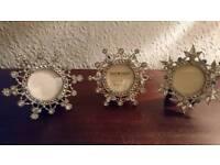 Christmas past Times photo frames