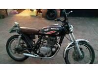 1980 kawasaki kz200 New mot ready to ride