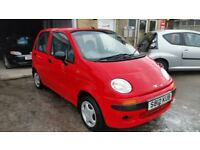 1998 DAEWOO MATIZ SE ONLY 63 MILES PX WELCOME