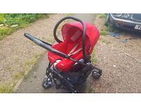 maxi cosi pram and child car seat