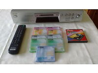 Sony minidisc player/recorder. MDSJE 480 model. Clean and very good working order.