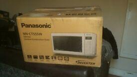 Panasonic NN CT555W Microwave