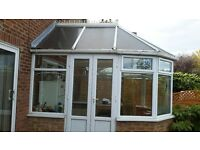 4 X 3 metre conservatory ,dismantled tied and ready for collection
