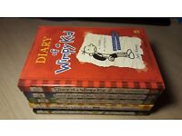 5x Diary of a Wimpy Kid books (£3 each)