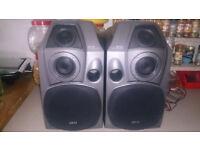 AKAI SR-725 3 Way Speakers