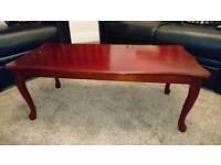 Solid Wood Mahogany Coffee Table