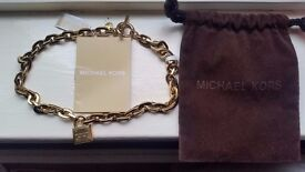 Michael Kors Gold Coloured Necklace