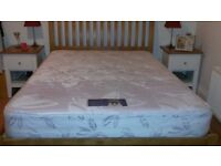 Silentnight beds miracoil mattress sateen cover