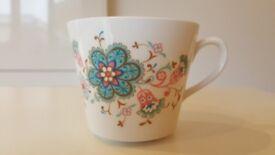 Vintage Ridgeway Pure Bone China Angelique Tea Set Made in England