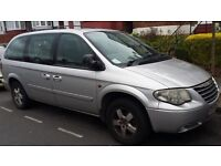 57 Reg 2007 Chrysler Grand Voyager 2.8 CRD Executive Auto 5 Door MOT 7 Seater MPV PCO Registered