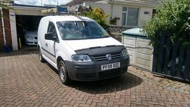 VW Caddy 2.0l SDi with dvd/satnav