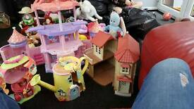 Various toy houses Inc sylvania family my little pony and Fifield