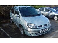 2002 Renault Scenic 1.4 petrol. Long MOT. Family car. Lovely condition