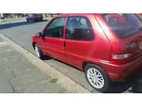 Citroen saxo moted taxed great little car