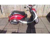 sym mio 2011 50cc 4 stroke long mot cheap to run ready to go ideal first bike or cheap transport