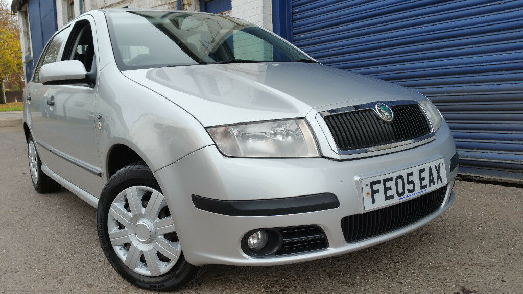 2005 SKODA FABIA 1.2HTP NEW MOT LOW MILEAGE VERY GOOD CONDITION IDEAL FIRST CAR